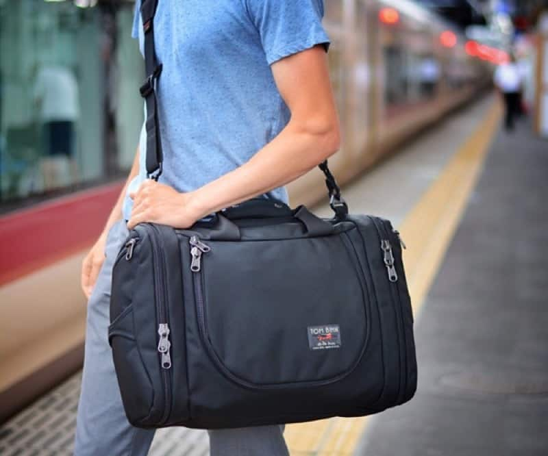 Tom Bihn Aeronaut 30 + 45 Shoulder straps from Tom Bihn are known for their comfort.