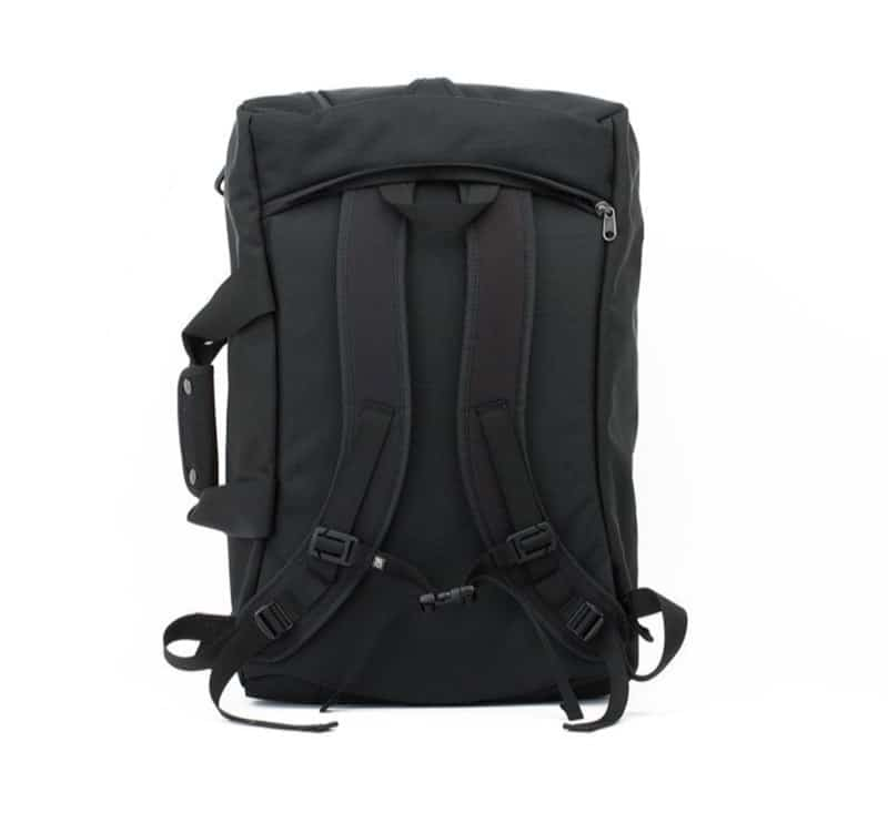 Tom Bihn Aeronaut 30 + 45 Hideable backpack straps.
