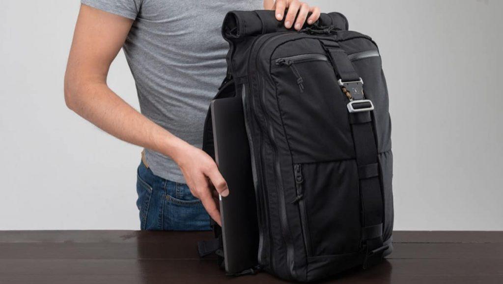 Huru H1 Backpack Solid exterior access. Great materials.