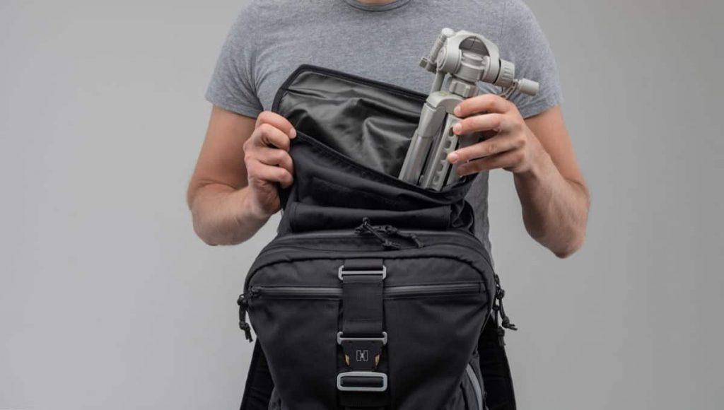 Huru H1 Backpack Kinda useful rolltop thing.