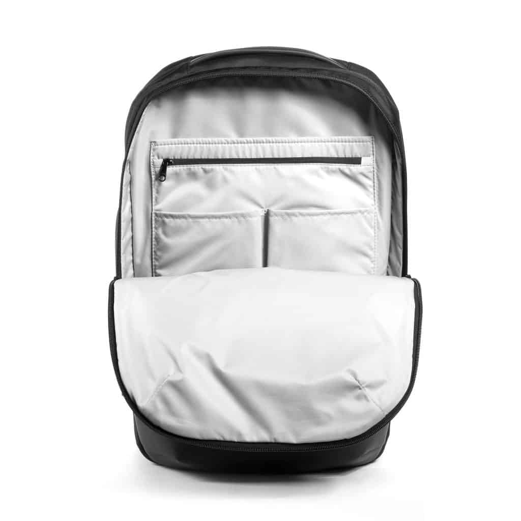 Solid organization in this bag, from the laptop compartment to the quick access pocket, org admin panel and more. Solid organization in this bag, from the laptop compartment to the quick access pocket, org admin panel and more.