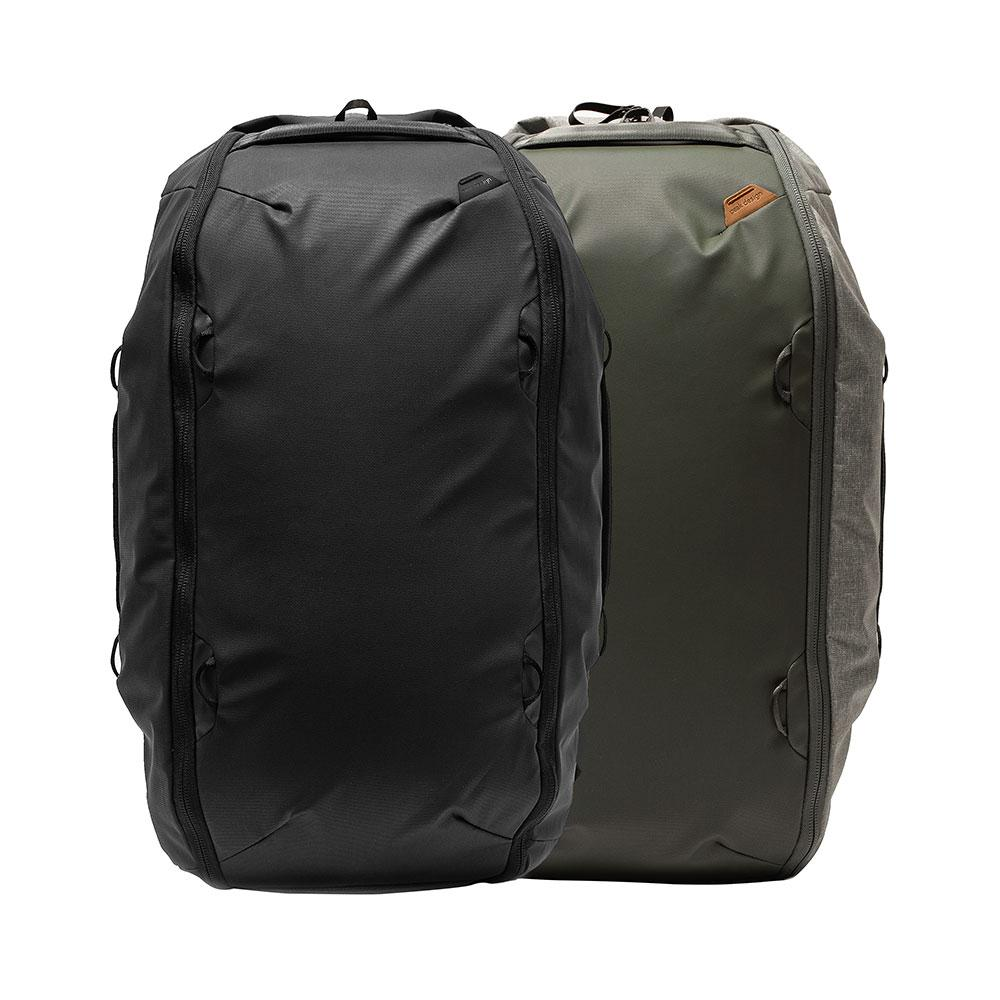 Peak Design Travel Duffelpack (65L) Massive capacity. Expands from 45-65L.