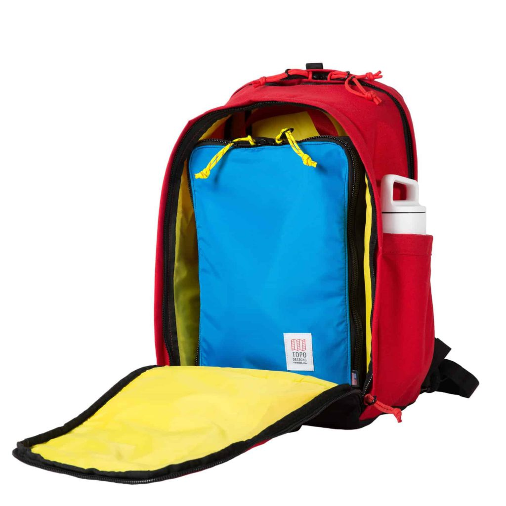 Topo Core Pack Excellent capacity for everyday use + minimal travel.