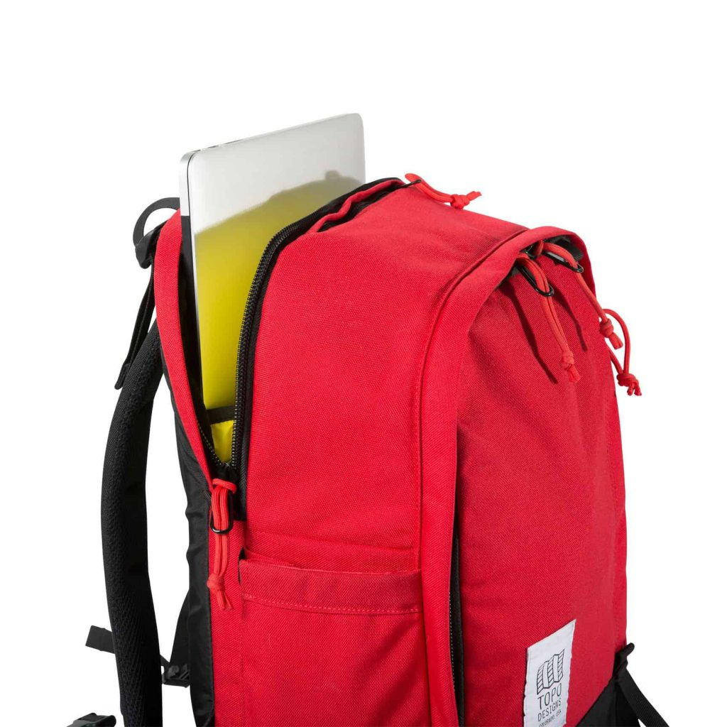 Topo Core Pack Separate laptop pocket.