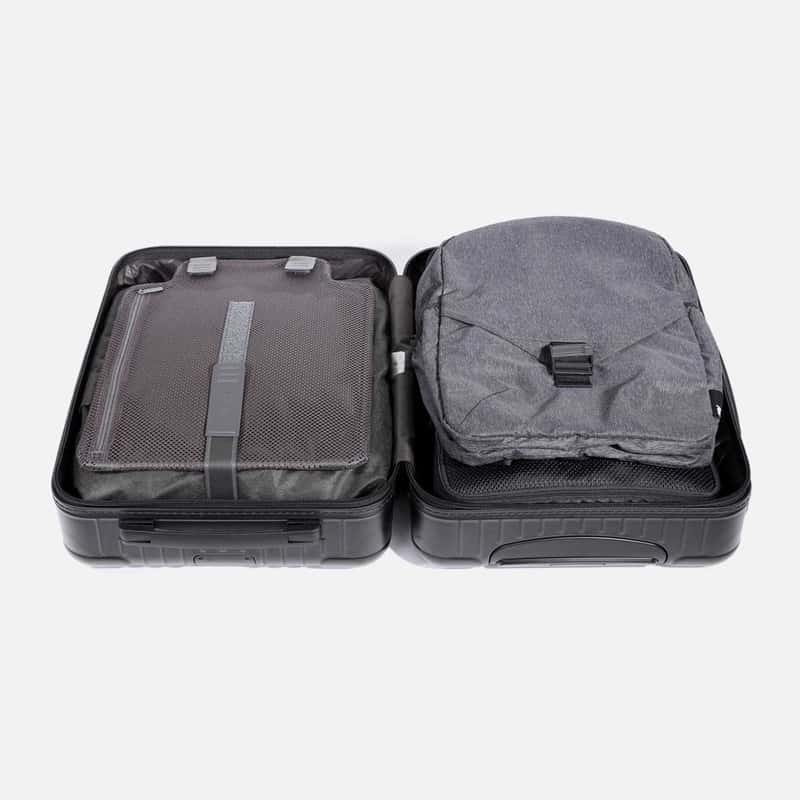 Lightweight and thin, it packs flat into your travel gear Lightweight and thin, it packs flat into your travel gear