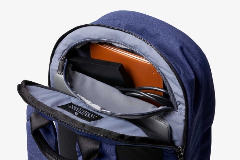 Really lovely organization details on this backpack. Bellroy do good work. Really lovely organization details on this backpack. Bellroy do good work.