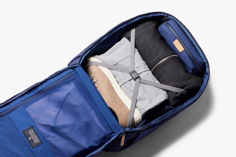 28L capacity = minimal travel + daily carry capable. 28L capacity = minimal travel + daily carry capable.