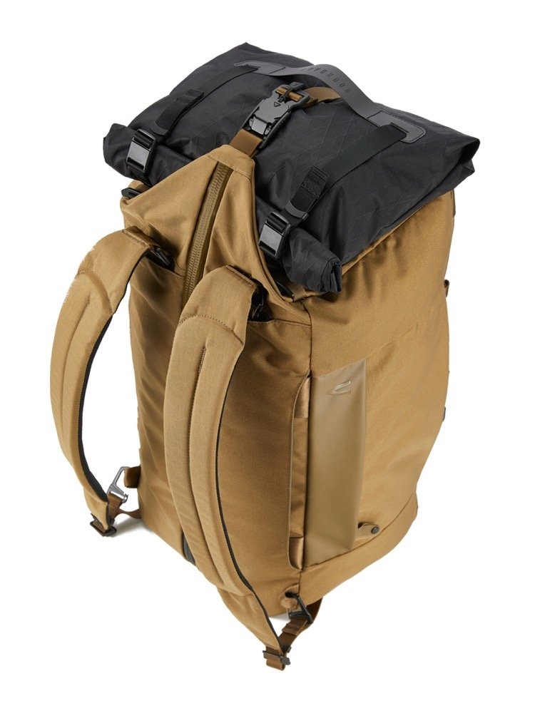 Boundary Supply Aegis Duffel Pack Stowable backpack straps. Some modular accessories.