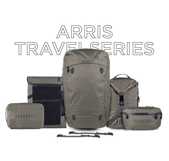 Boundary Supply Arris Travel Pack Lots of modular accessories.