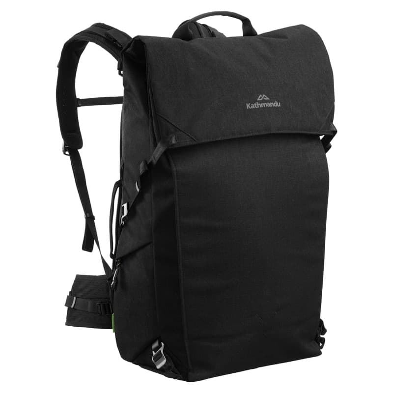 Kathmandu Federate Adapt Hybrid Travel Bag Crazy conversion skills on this bag; from 28L to 50L!