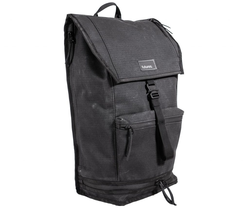 Futures Passport Backpack Simple aesthetic. Killer durability and external access.