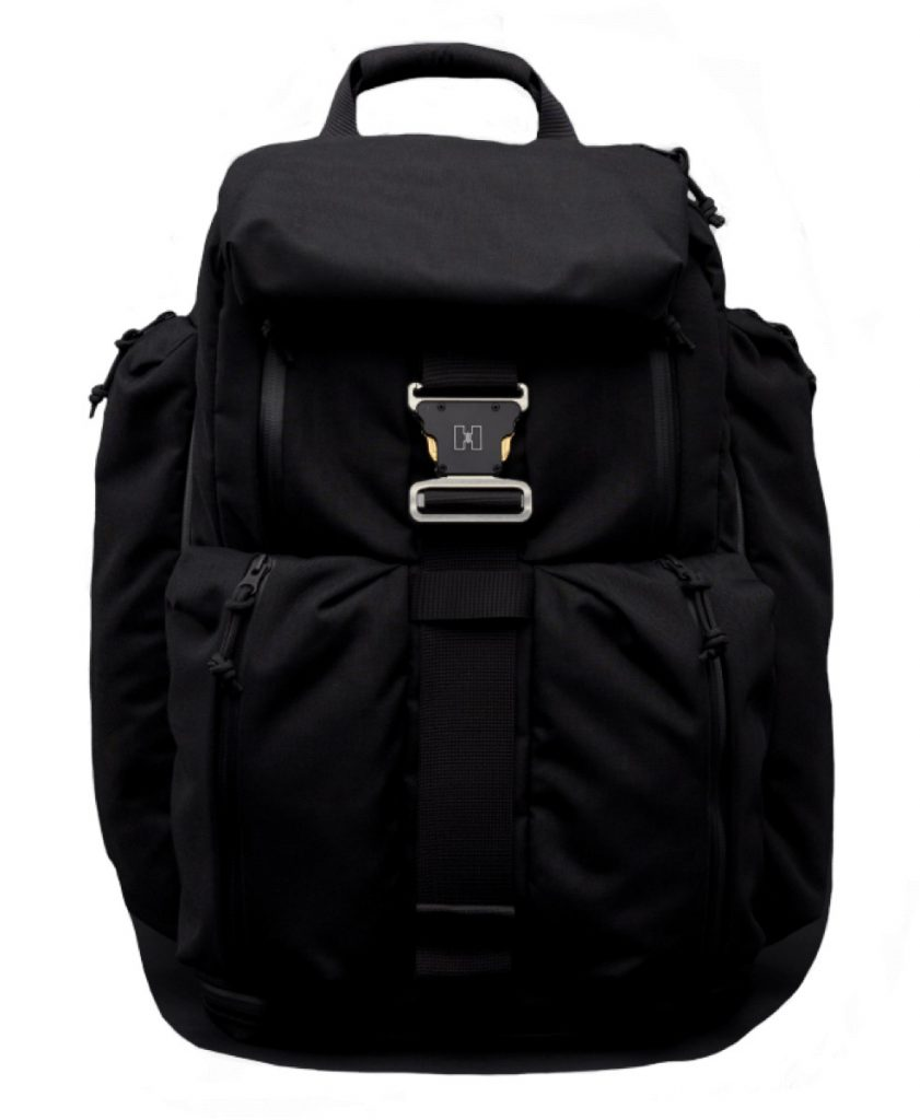 Huru A Model Backpack Simple, pouchy looks.