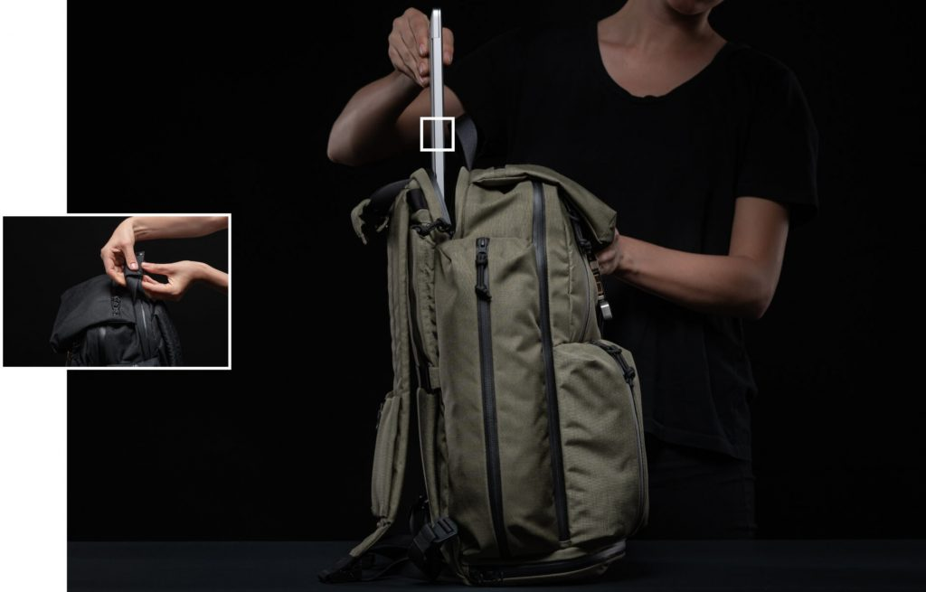 Huru A Model Backpack 15