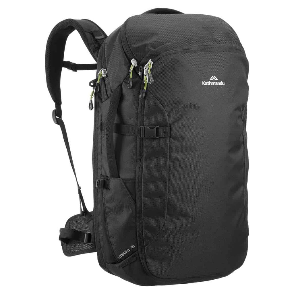 Kathmandu Litehaul 38 Travel Backpack A very capable travel bag for the price.