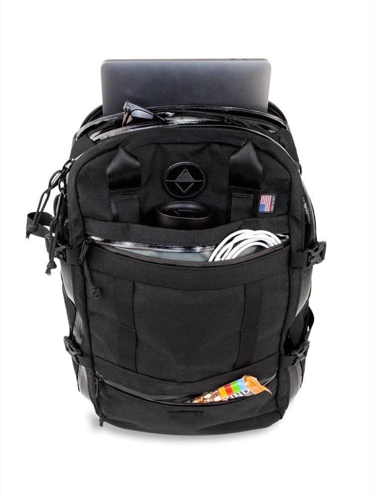 North St. Weekender Travel Backpack Solid external organization.