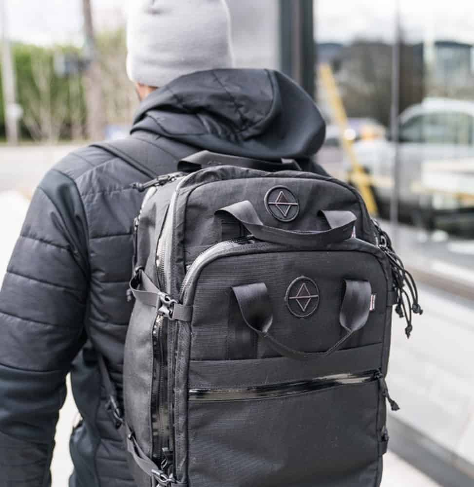 North St. Weekender Travel Backpack Detachable daypack available.