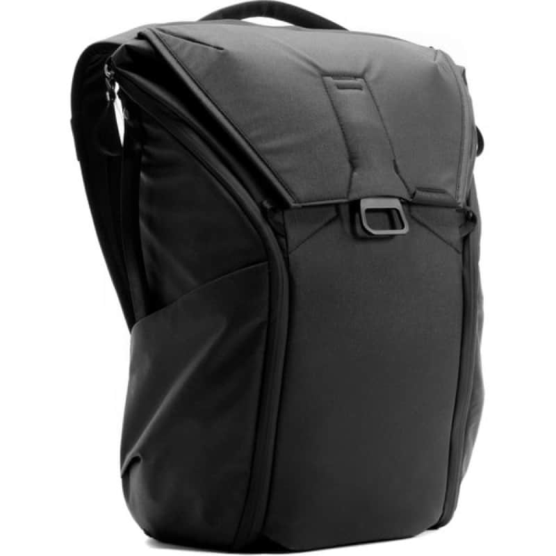 Peak Design Everyday Backpack Slick look. Elon Musk-y. New 2.0 updates are killer.