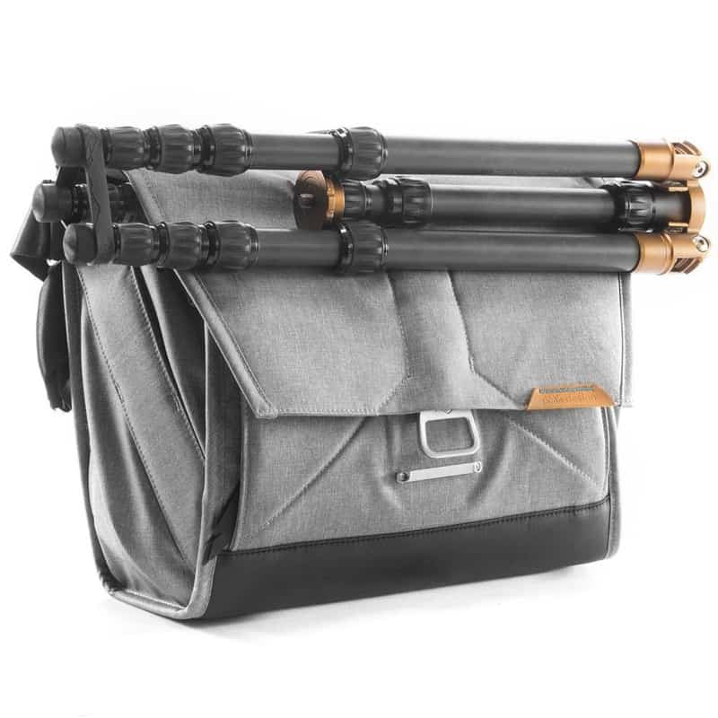 Peak Design Everyday Messenger One of the only messenger bags to enable such a wide variety of custom carry options.