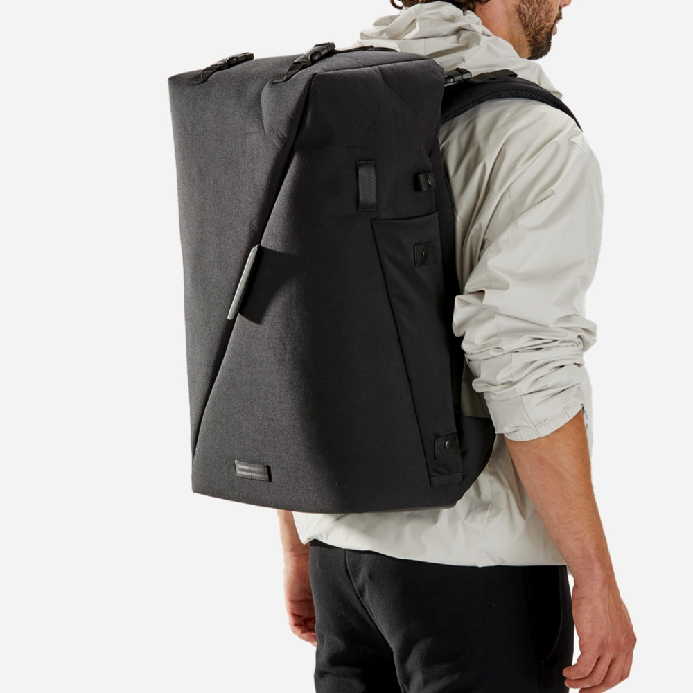 Riutbag X35 Convertible Security Backpack 35L max capacity. Clean lines.