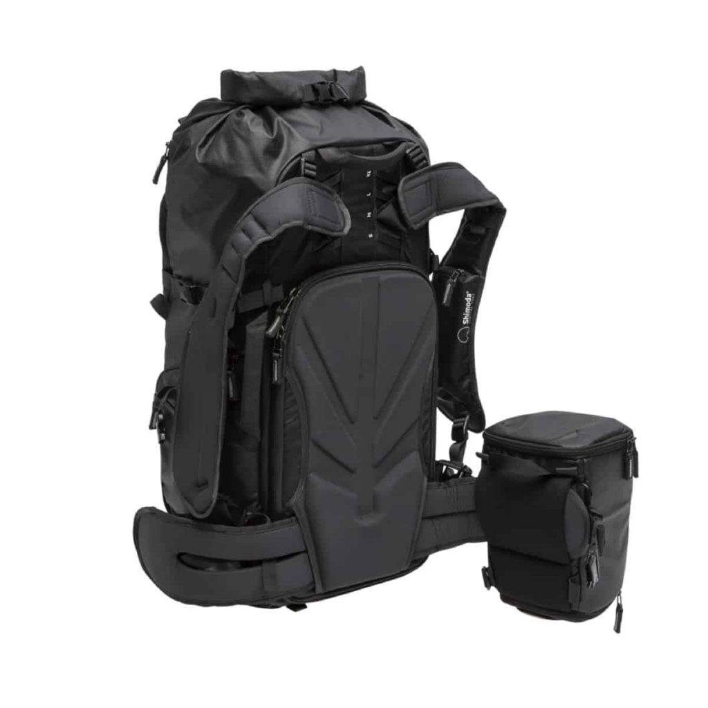 Shimoda X30 Adventure Camera Backpack Ridiculously comfortable harness system.