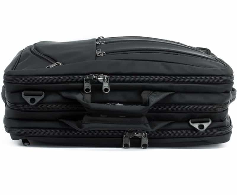 Tom Bihn Tristar Interesting 3-compartment method for organizing your goods in transit.