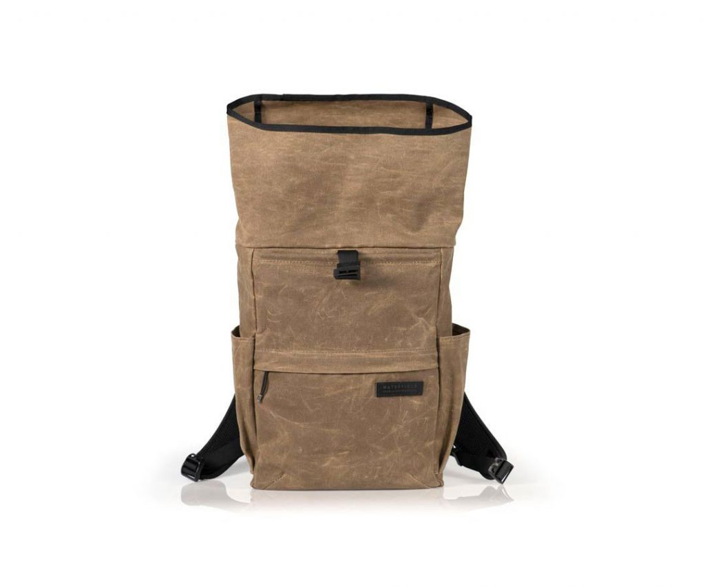 Waterfield Tech Rolltop Backpack Rolltop offers a smidge of extra space.