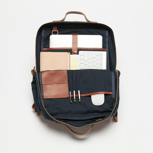 Breton Modern Day Briefcase Backpack